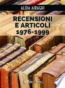 Recensioni e articoli 1976-1999
