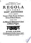 Regola del Padre Sant'Agostino