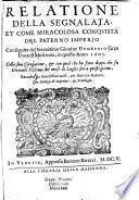 Relatione della ... conguista del paterno imperio consequita dal Giovine Demetrio gran Duca di Mascovia in quest'anno 1605