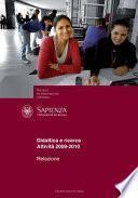 Relazione Nucleo di Valutazione d'Ateneo Didattica e ricerca. Attività 2009-2010