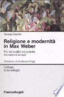 Religione e modernità in Max Weber