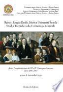 Remus: Reggio Emilia Musica Università Scuola Studi e Ricerche sulla Formazione Musicale