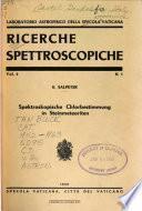 Ricerche spettroscopiche