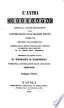 Riproduzione di tutte le opere del servo di Dio d. Gennaro M. Sarnelli, p. della congregazione del SS. Redentore