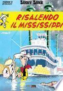 Risalendo il Mississippi. Lucky Luke