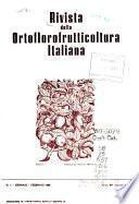 Rivista della ortoflorofrutticoltura italiana