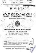 Rivista delle comunicazioni