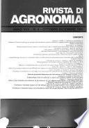 Rivista Di Agronomia