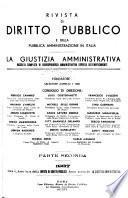 Rivista di diritto pubblico e della pubblica amministrazione in Italia