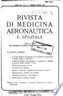 Rivista di medicina aeronautica e spaziale