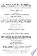 Rivista di patologia e clinica della tubercolosi e di pneumologia