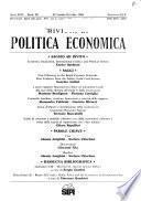 Rivista di politica economica