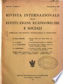 Rivista internazionale delle istituzioni economiche e sociali