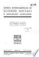 Rivista internazionale di scienze sociali e discipline ausiliarie