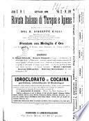 Rivista italiana di terapia e igiene giornale per i medici pratici