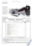 Rivista nautica rowing, yachting, Marina militare e mercantile