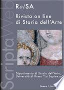 Rivista on line di storia dell'arte. Numero 1