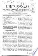 Rivista popolare di politica, lettere e scienze sociali
