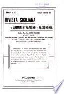 Rivista siciliana di amministrazione e ragioneria