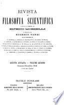 Rivista speciale di opere di filosofia scientifica