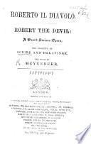 Roberto Il Diavolo