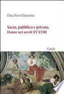 Sacro, pubblico e privato