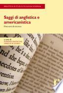 Saggi di anglistica e americanistica. Percorsi di ricerca