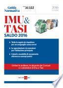 SALDO IMU E TASI 2016