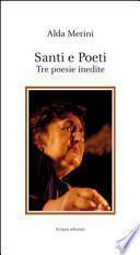 Santi e poeti. Tre poesie inedite