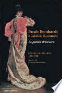 Sarah Bernhardt e Gabriele d'Annunzio