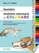 Saunders. Anatomia veterinaria da colorare