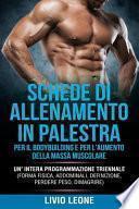 Schede Di Allenamento in Palestra Per Il Bodybuilding E Per l'Aumento Della Massa Muscolare