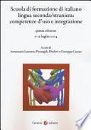 Scuola di formazione di italiano lingua seconda/ straniera