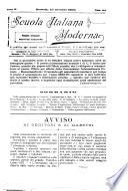 Scuola italiana moderna periodico settimanale di pedagogia, didattica e leteratura