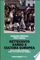 Settecento sardo e cultura europea