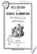 Sillabario per le scuole elememntari d'Italia