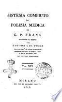 Sistema compiuto di polizia medica di G. P. Frank