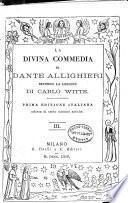 """""""La"""" divina commedia di Dante Alighieri: Paradiso. 1864"""