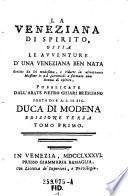 """""""La"""" Veneziana Di Spirito"""