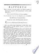 Rapporto sopra i principj di morale politica che debbono guidare la Convenzione nazionale nell'amministrazione interiore della Repubblica; fatto in nome del Comitato di salvezza pubblica, li 18 di piovoso, l'anno 2.o della Repubblica una ed indivisibile; da Massimiliano Robespierre ..