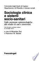 Sociologia clinica e sistemi socio-sanitari