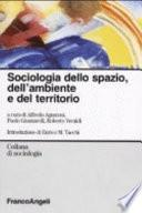 Sociologia dello spazio, dell'ambiente e del territorio