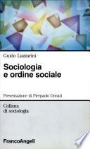Sociologia e ordine sociale