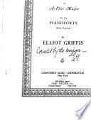 Sonata in A-flat major for the pianoforte