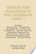 Sources and Analogues of the Canterbury Tales