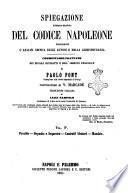 Spiegazione teorico-pratica del codice Napoleone contenente l'analisi critica degli autori e della giurisprudenza e seguita da un reassunto alla fine di ciascun titolo V. Marcade