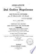 *Spiegazione teorico-pratica del Codice Napoleone contenente l'analisi critica degli autori e della giurisprudenza e seguita da un riassunto alla fine di ciascun titolo