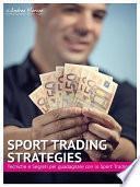 Sport Trading Strategies