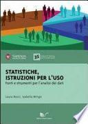 Statistiche: istruzioni per l'uso
