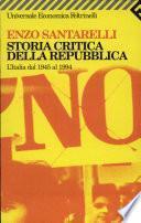Storia critica della repubblica